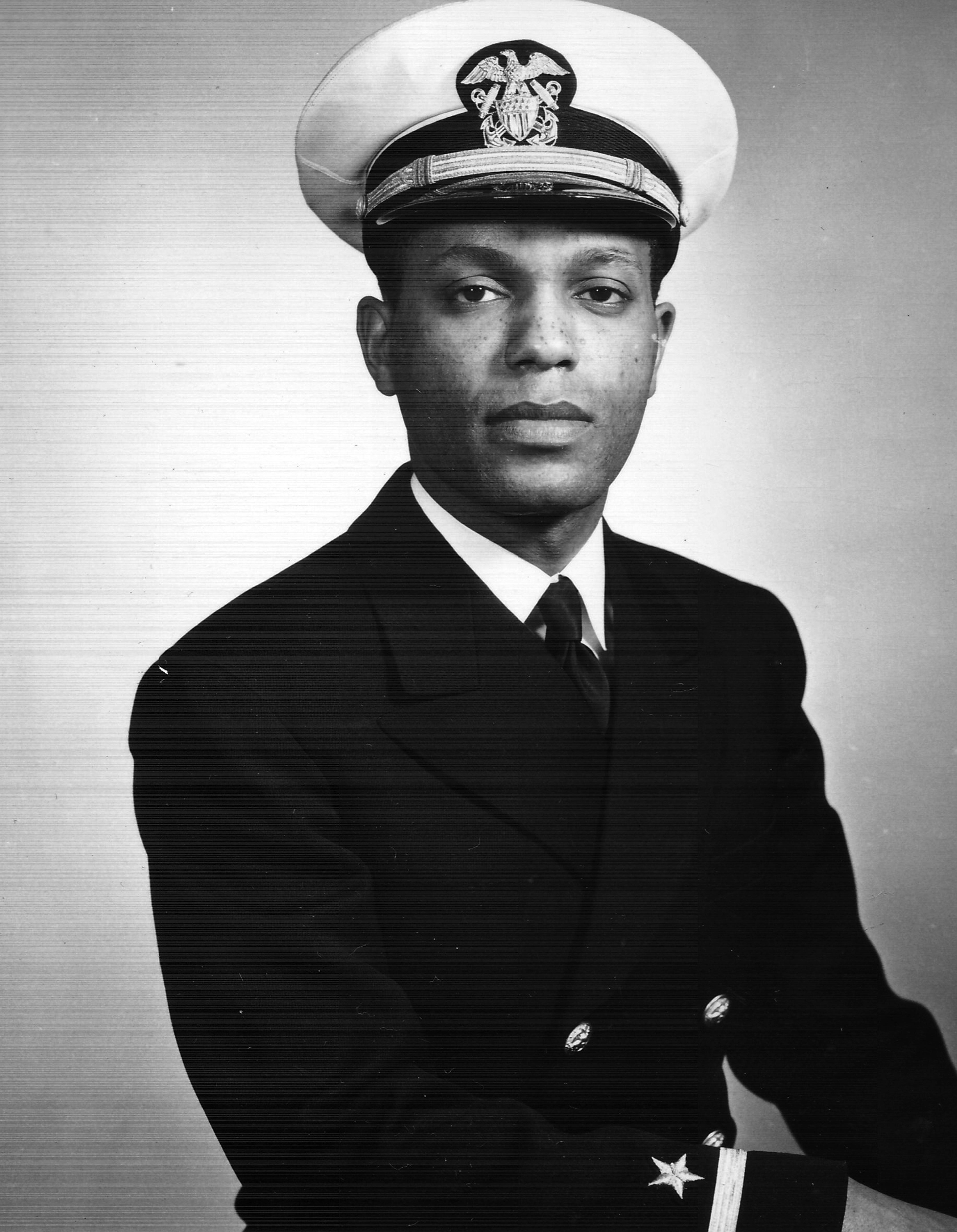 William Sylvester White Jr. in Chicago during World War II.