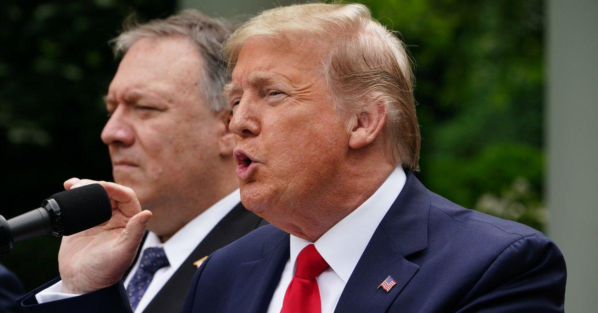 Trump Says U.S. 'Terminating' Relationship With the World Health Organization Over Its Coronavirus Response