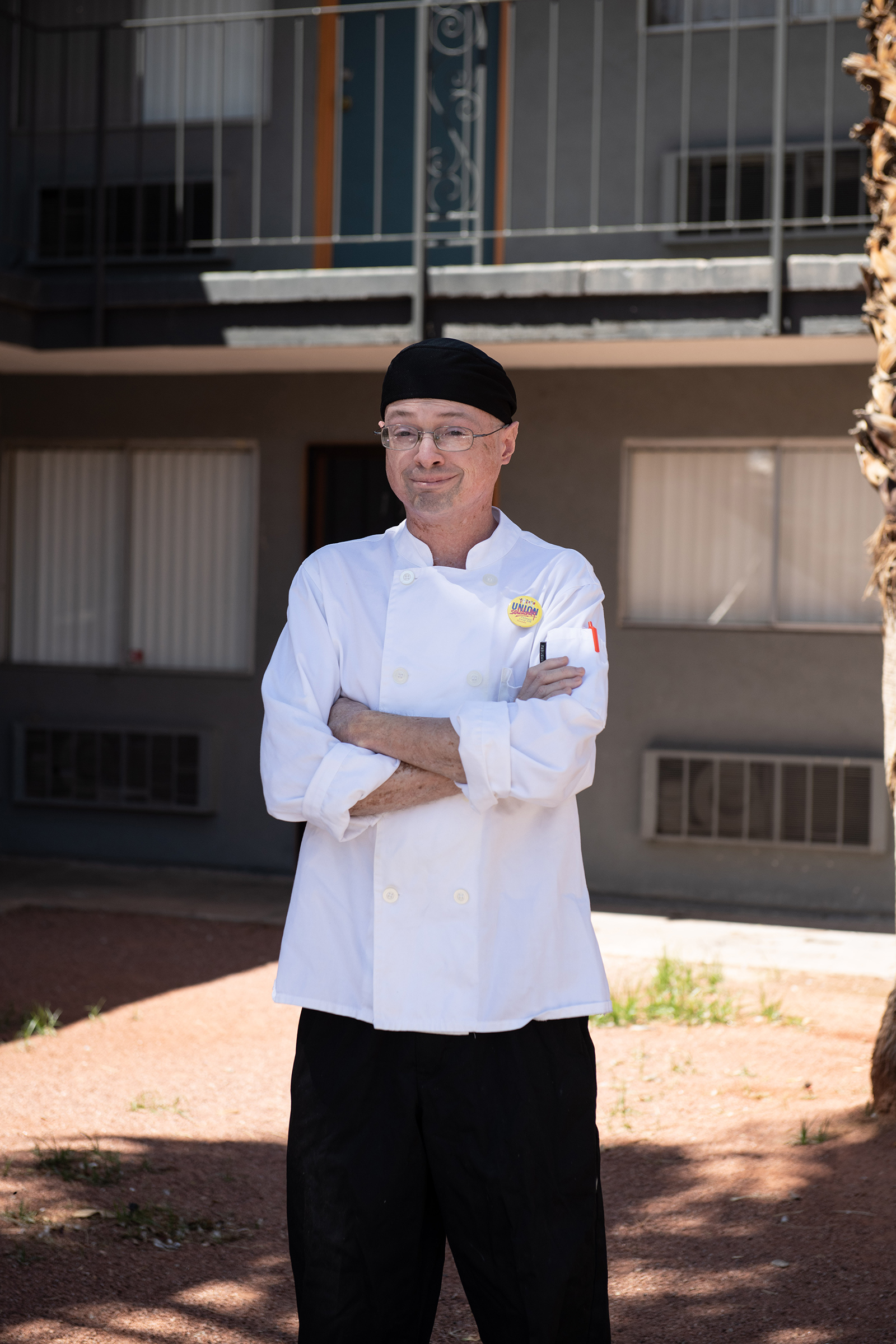"Shawn Best, 38, Cook, Las Vegas. Best loved his job as the ""breakfast guy"" at the Cosmopolitan, where he'd worked since the hotel opened nearly a decade ago. Now when he talks to his parents in Buffalo, N.Y., he says, ""I feel like I'm the retired one while my parents are still working."" Since receiving his last paycheck in mid-April, he's been using his unemployment benefits and the stimulus check to pay his bills and buy food."