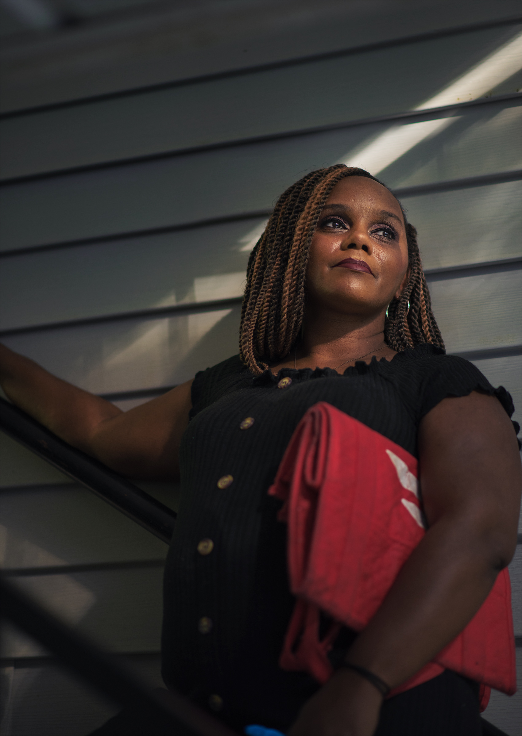 "Tanisha Robinson, 41, Nanny, Alpharetta, GA. After losing her job as a nanny in March, Robinson could no longer afford health insurance, so she's been rationing her lupus and anxiety medications. She doesn't know when she'll earn money again. ""My stimulus came and I was able to pay the balance of my rent for April and buy food,"" she says, ""and now I'm right back where I started."""