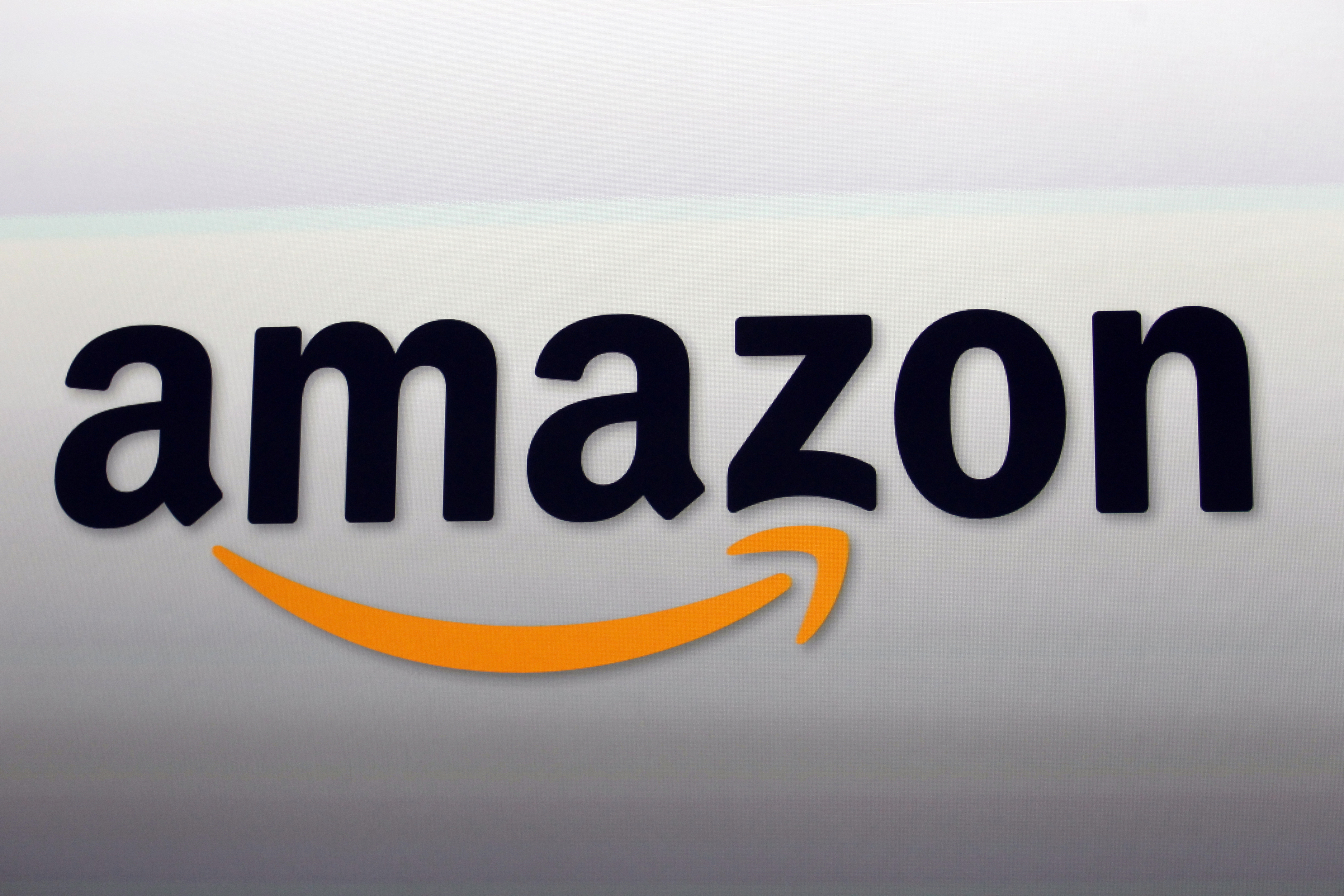 The Amazon logo in Santa Monica, Calif., on Sept. 6, 2012.