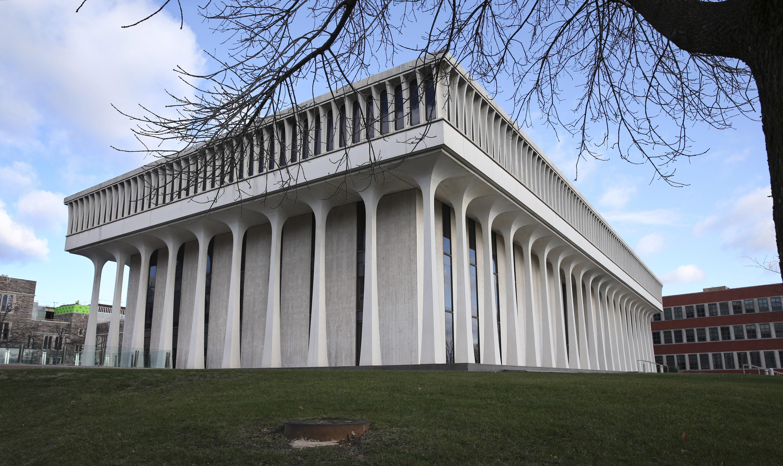 The Woodrow Wilson School of Public and International Affairs at Princeton University in Princeton, N.J., on Dec. 3, 2015.