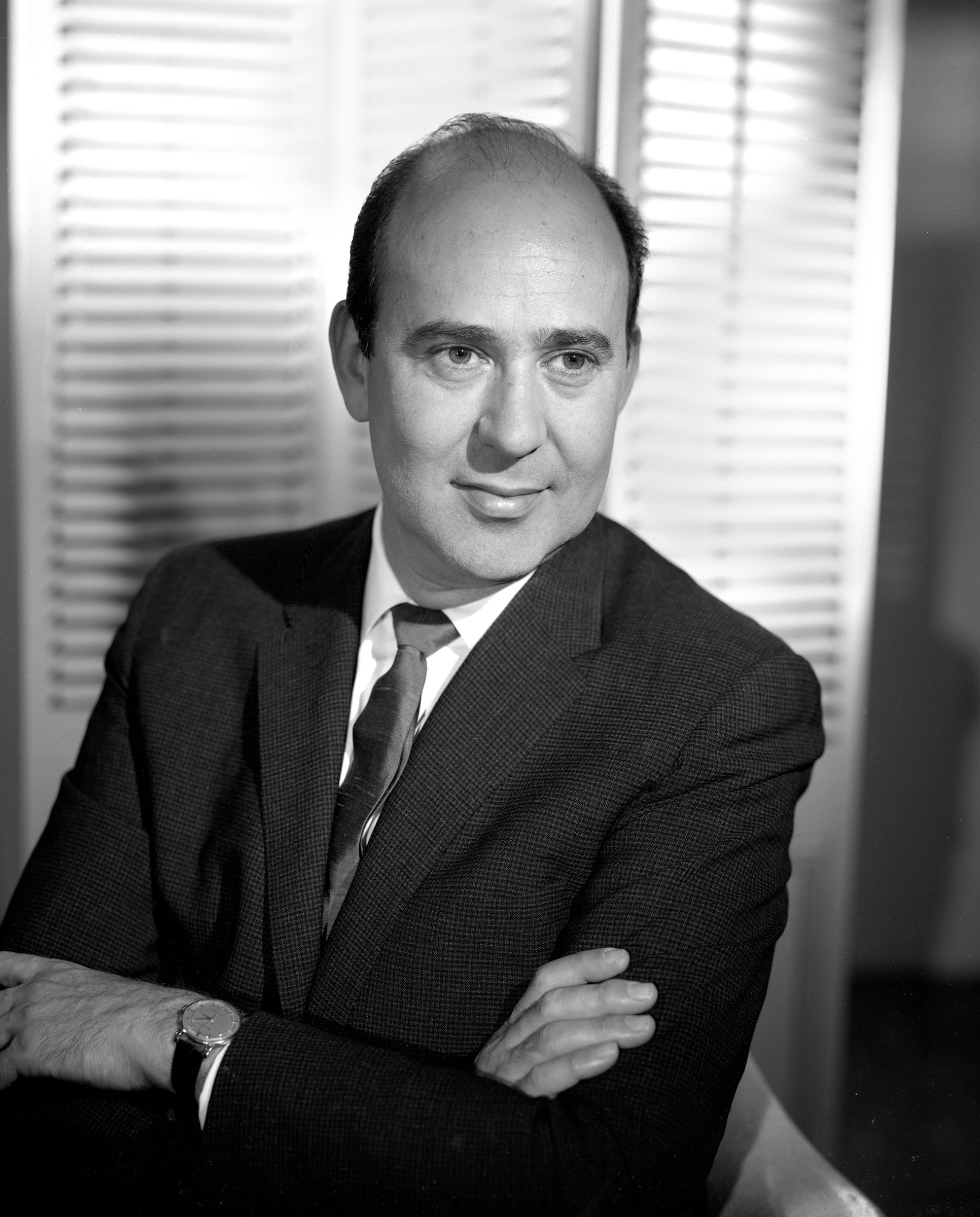 Carl Reiner photographed in May 1962 in Hollywood, Calif.