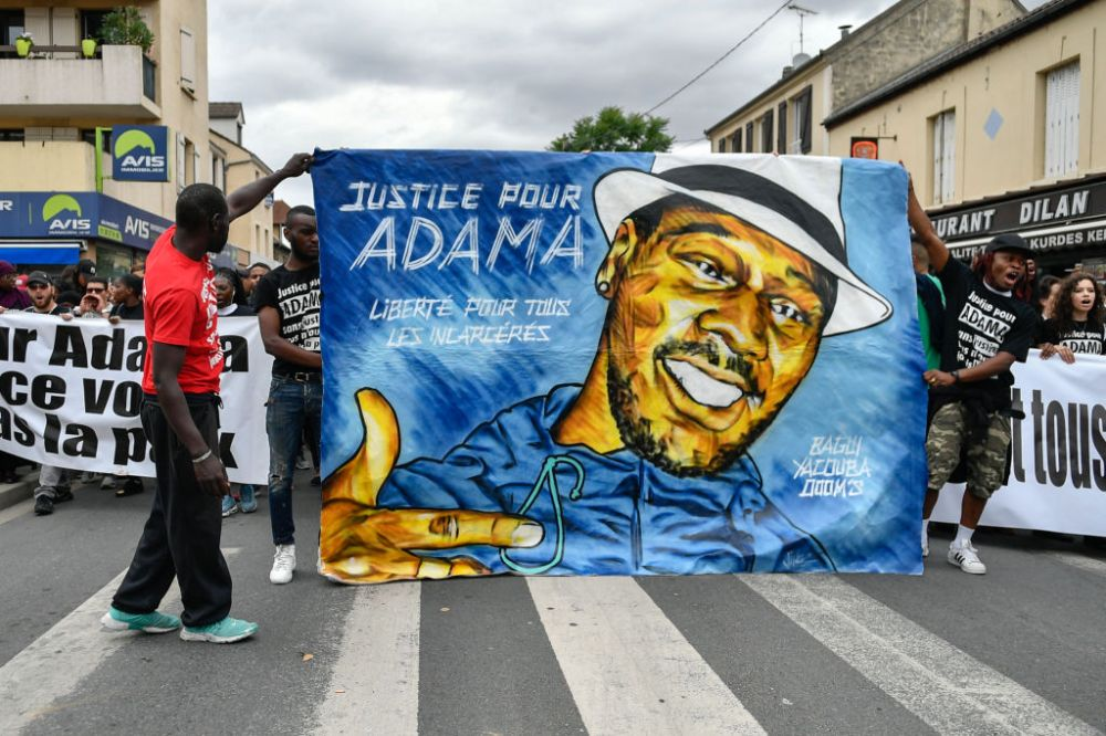 Adam Traore' commemorative march one year after