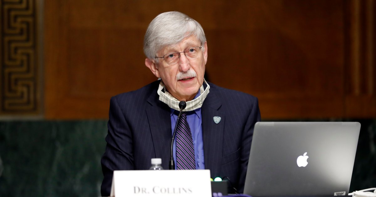 'Having an effective vaccine by the end of this calendar year is achievable.' NIH's Francis Collins on the big push for a vaccine