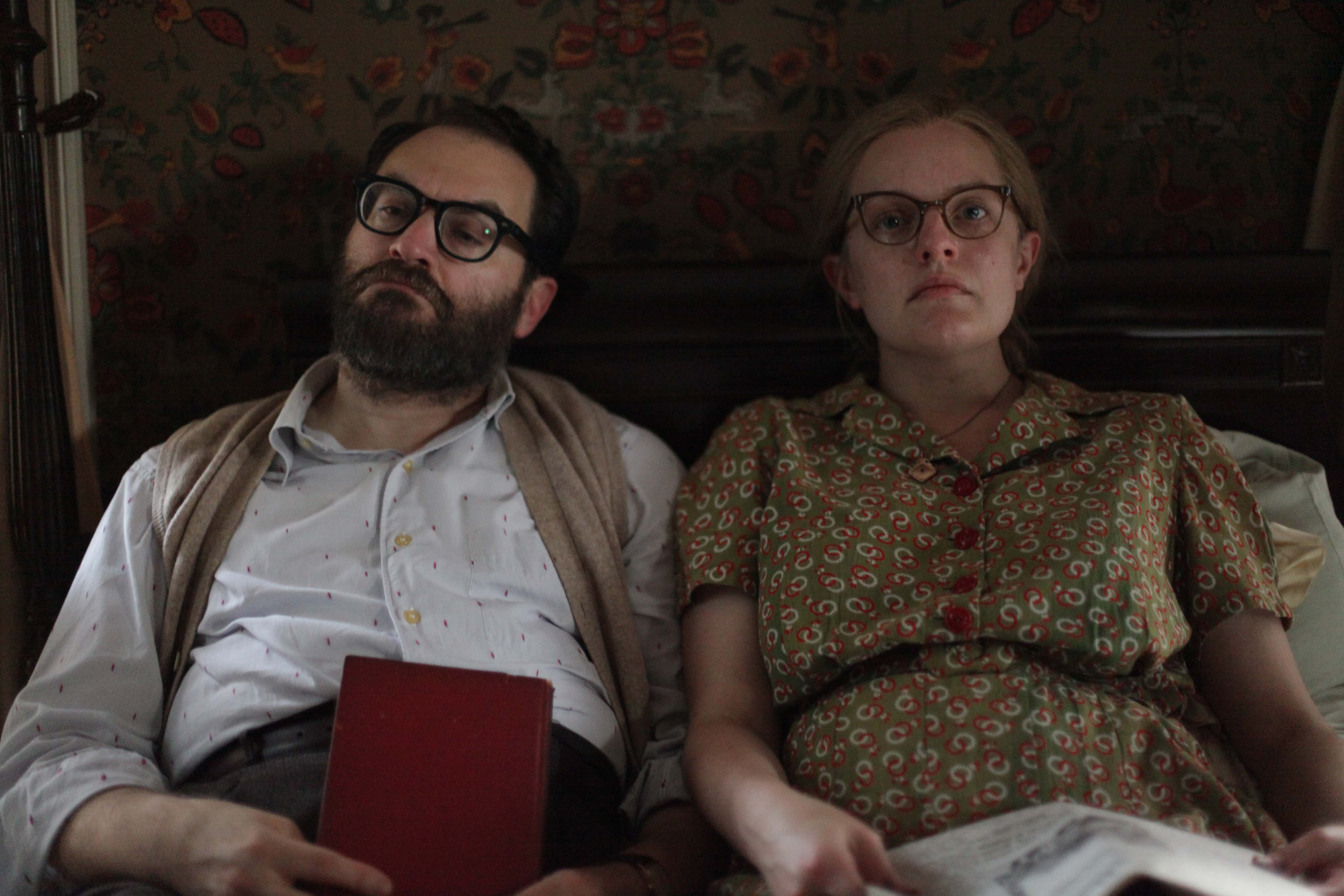 Michael Stuhlbarg and Elisabeth Moss in 'Shirley'