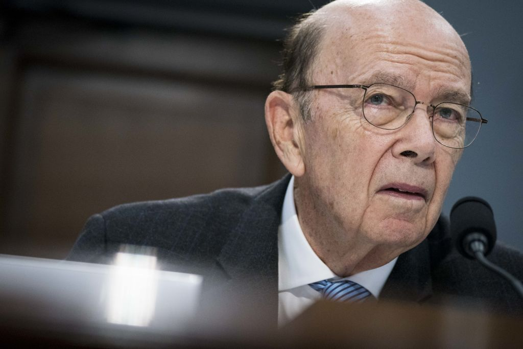 Wilbur Ross, U.S. commerce secretary, testifies before the House Committee on Appropriations in Washington, D.C., U.S., on Tuesday, March 10, 2020. Ross discussed the 2020 census and the coronavirus.