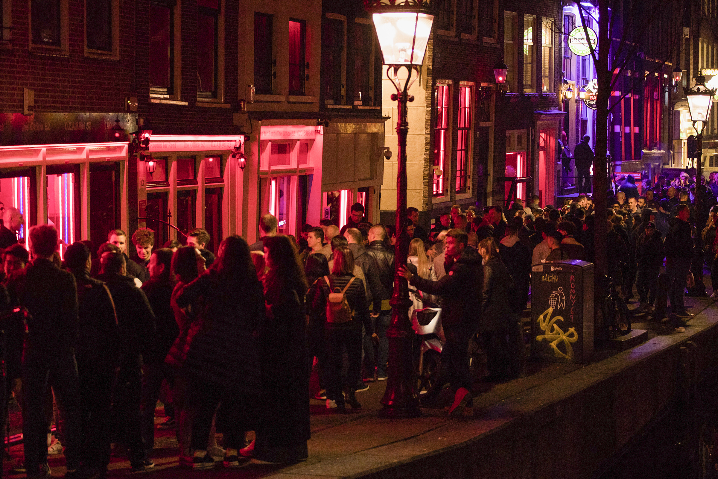 How COVID-19 Could Change Amsterdam's Red Light District | Time