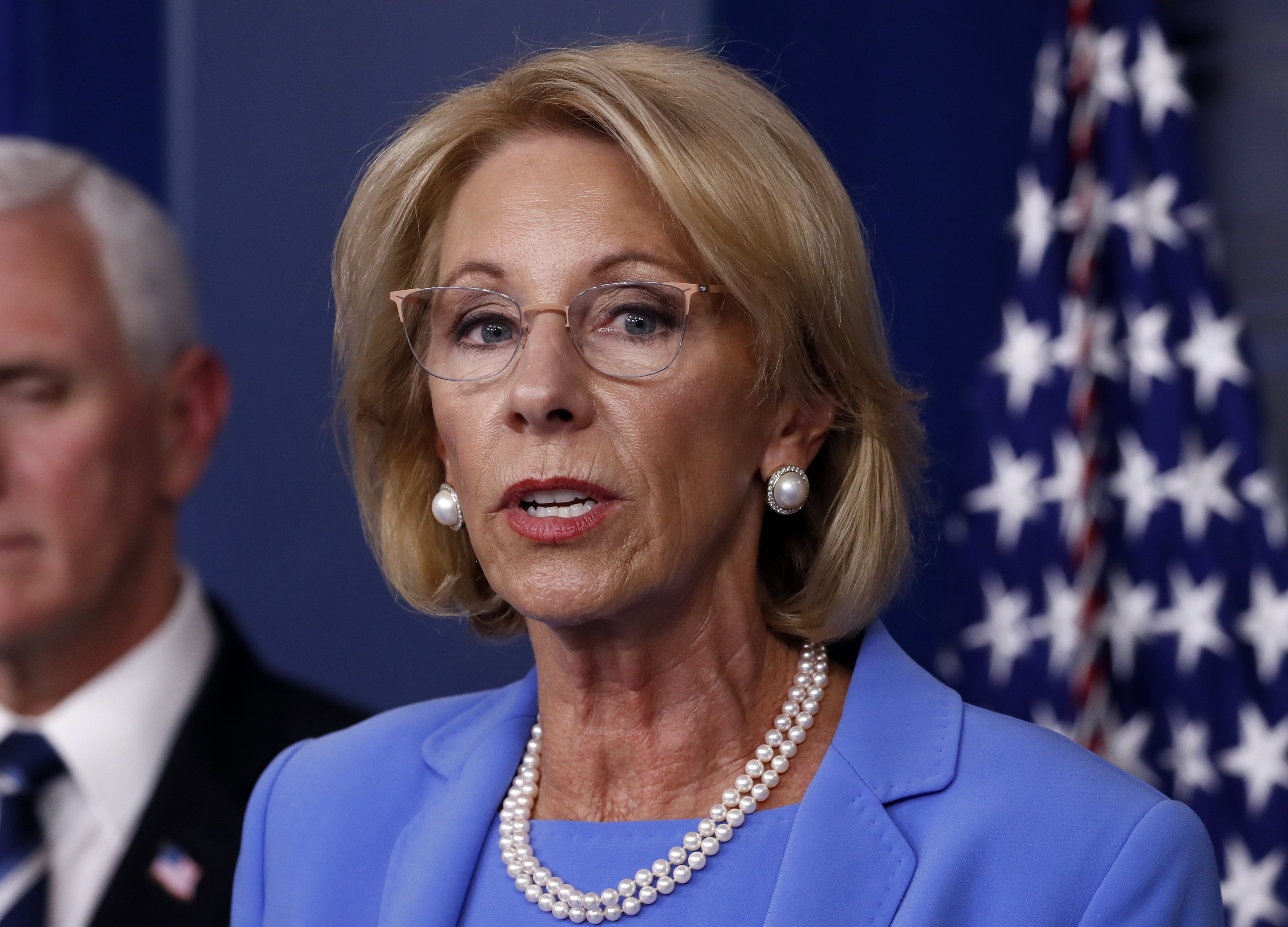 Betsy DeVos Directs More Coronavirus Aid to Private Schools as She Warns of 'Looming Crisis'