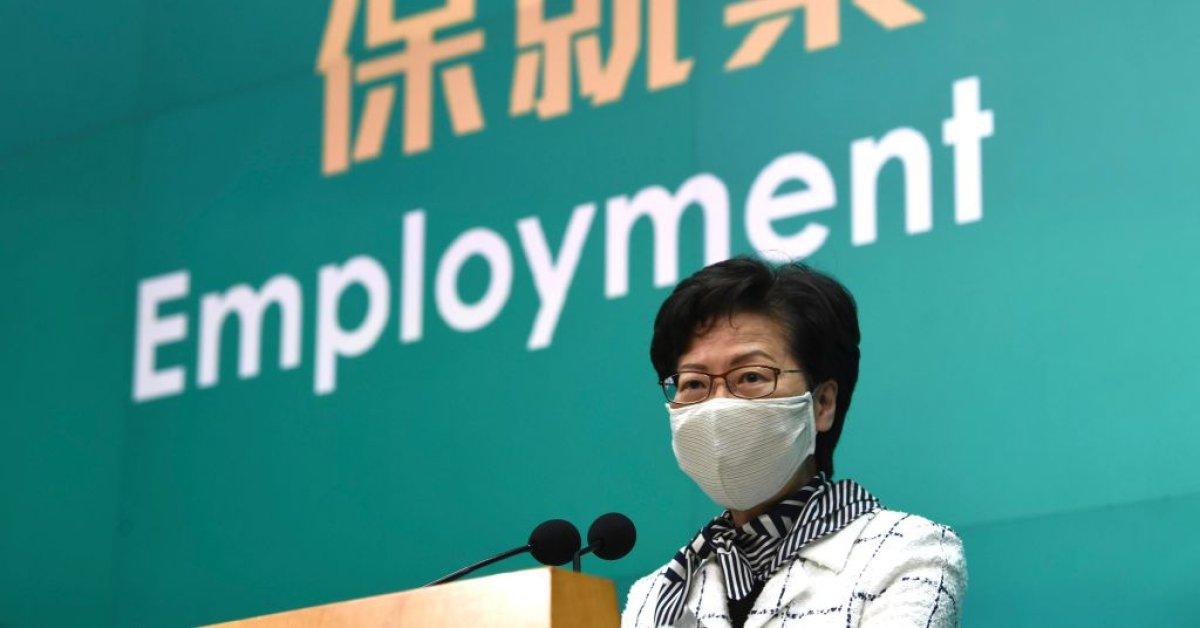 Лидер Гонконга говорит, что до сих пор не видела проект закона о безопасности thumbnail