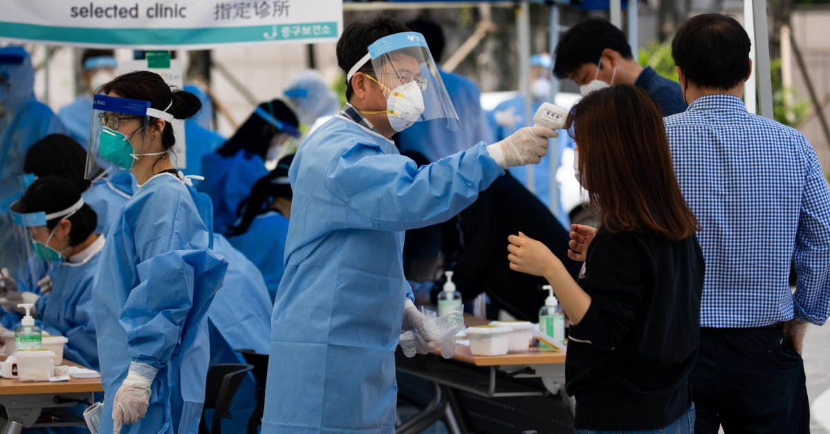 South Korea Sees Largest Spike In COVID-19 Cases In 3 Weeks | World Best  News