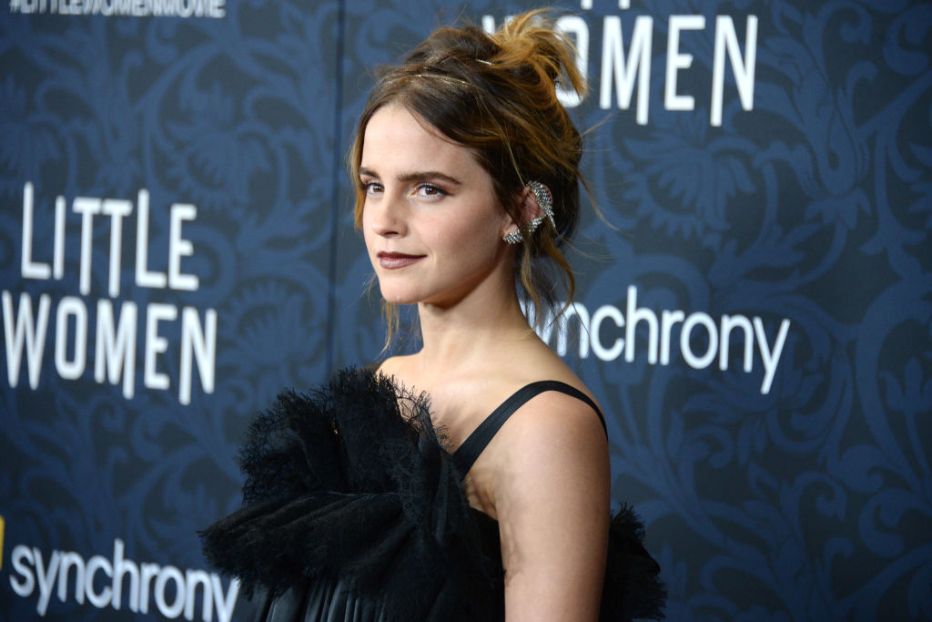 Emma Watson attends  Little Women  World Premiere on December 7, 2019 at Museum of Modern Art in New York City.