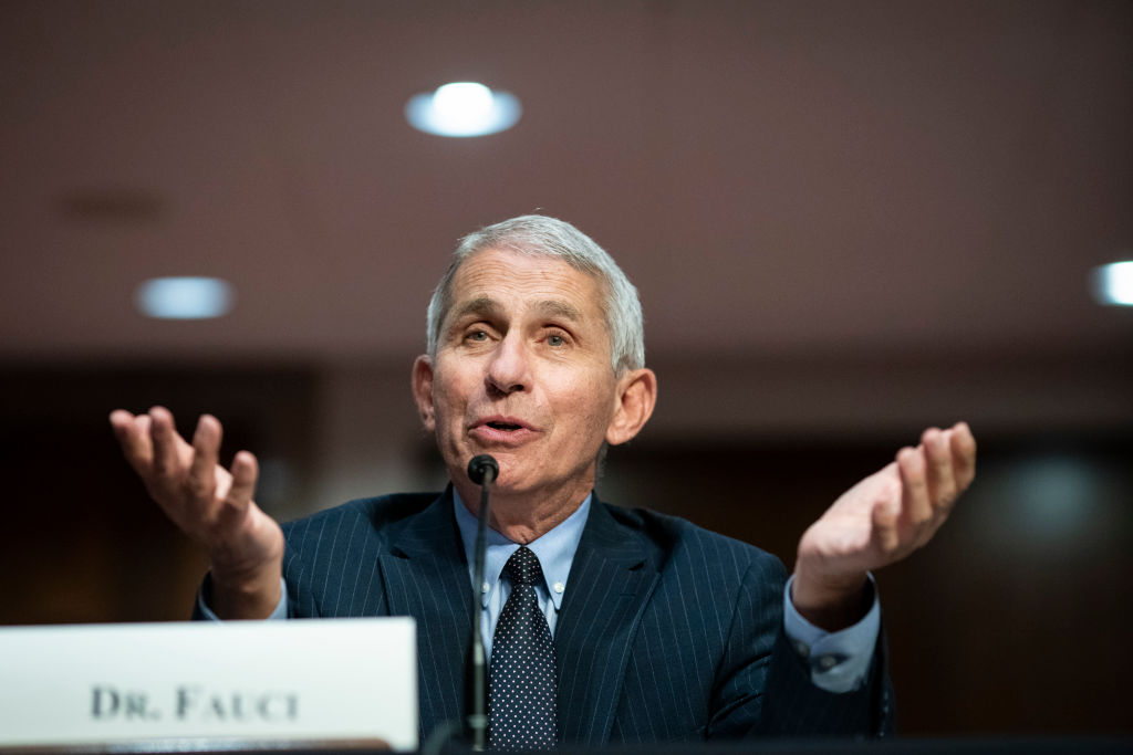 Dr. Anthony Fauci speaks during a Senate Health, Education, Labor and Pensions Committee hearing on June 30, 2020 in Washington, DC.