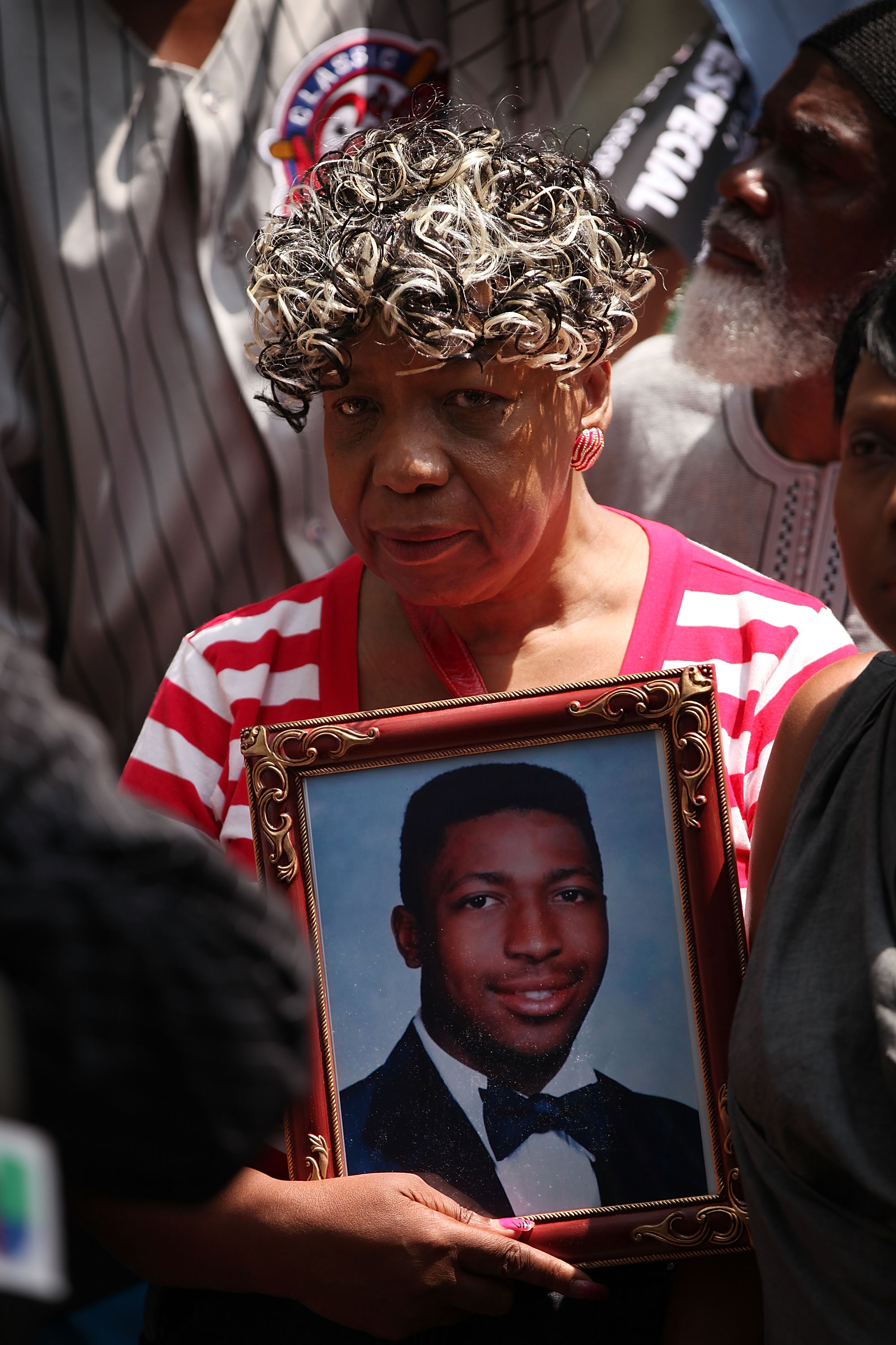 Gwen Carr, the mother of Eric Garner, on July 7, 2015 in New York City.