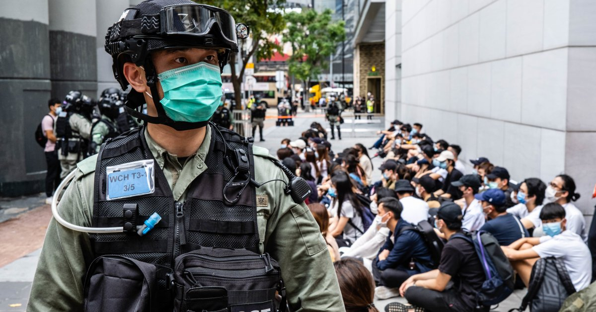 Activists archive Hong Kong pro-democracy newspaper on