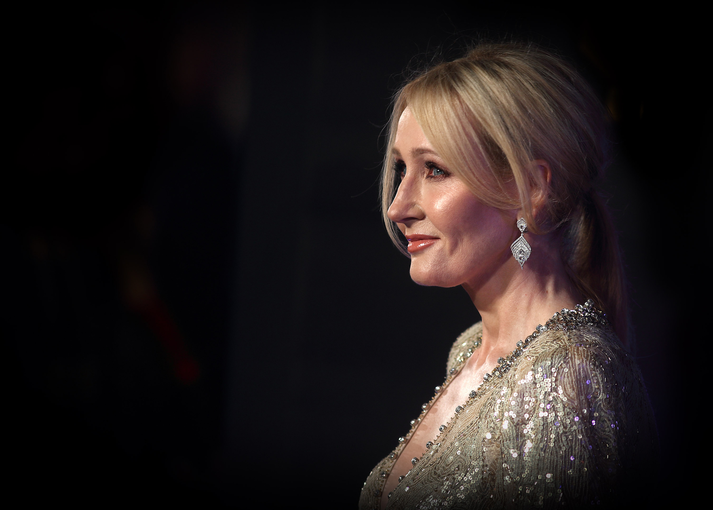 J.K. Rowling attends the European premiere of  Fantastic Beasts And Where To Find Them  at Odeon Leicester Square in London, England on Nov. 15, 2017.
