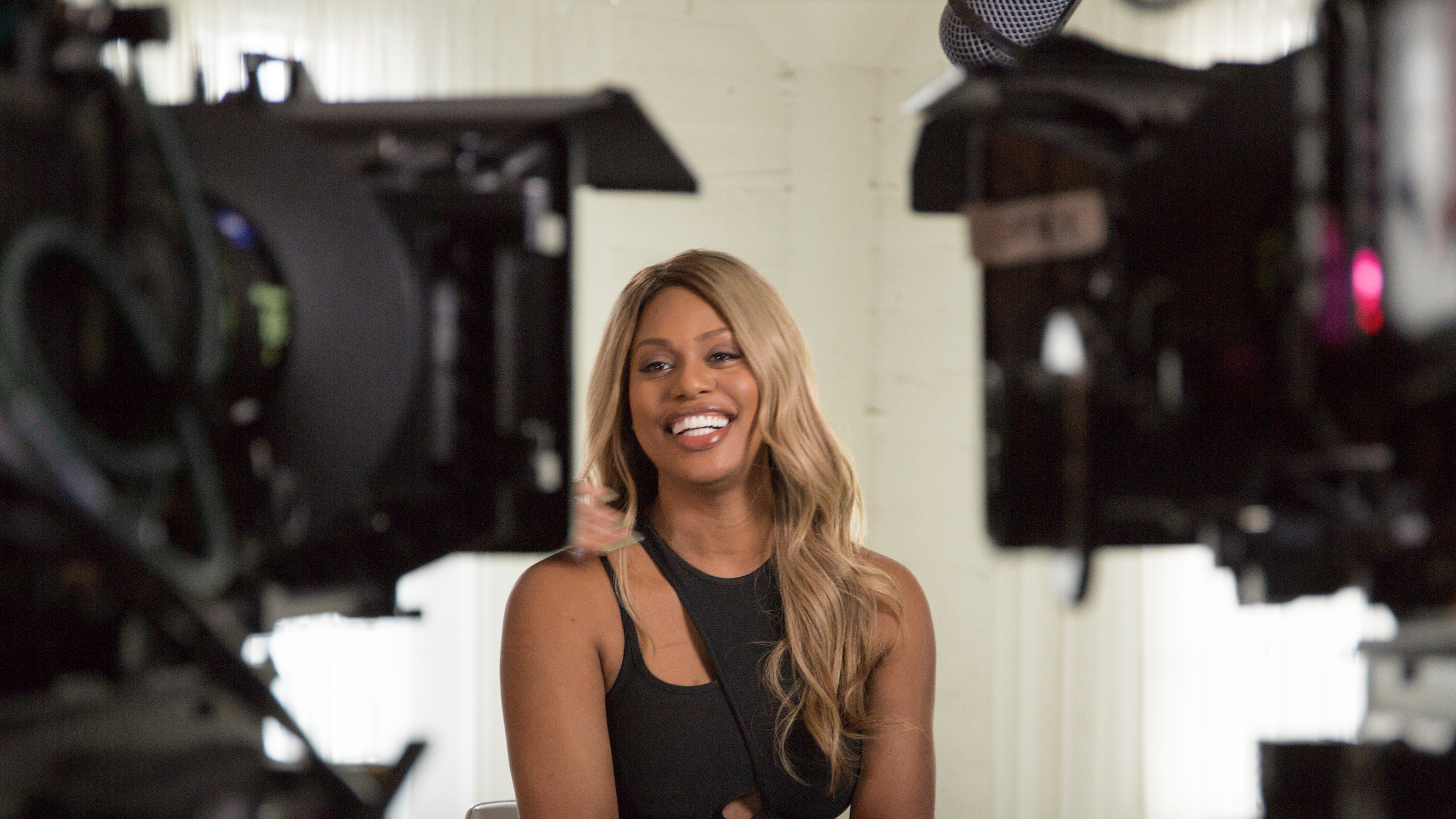 Laverne Cox, actor and executive producer of 'Disclosure'