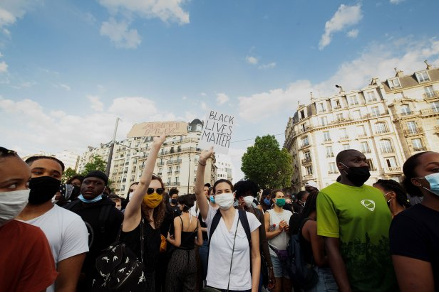 FRANCE-US-DEMO-POLICE-POLITICS-RACE