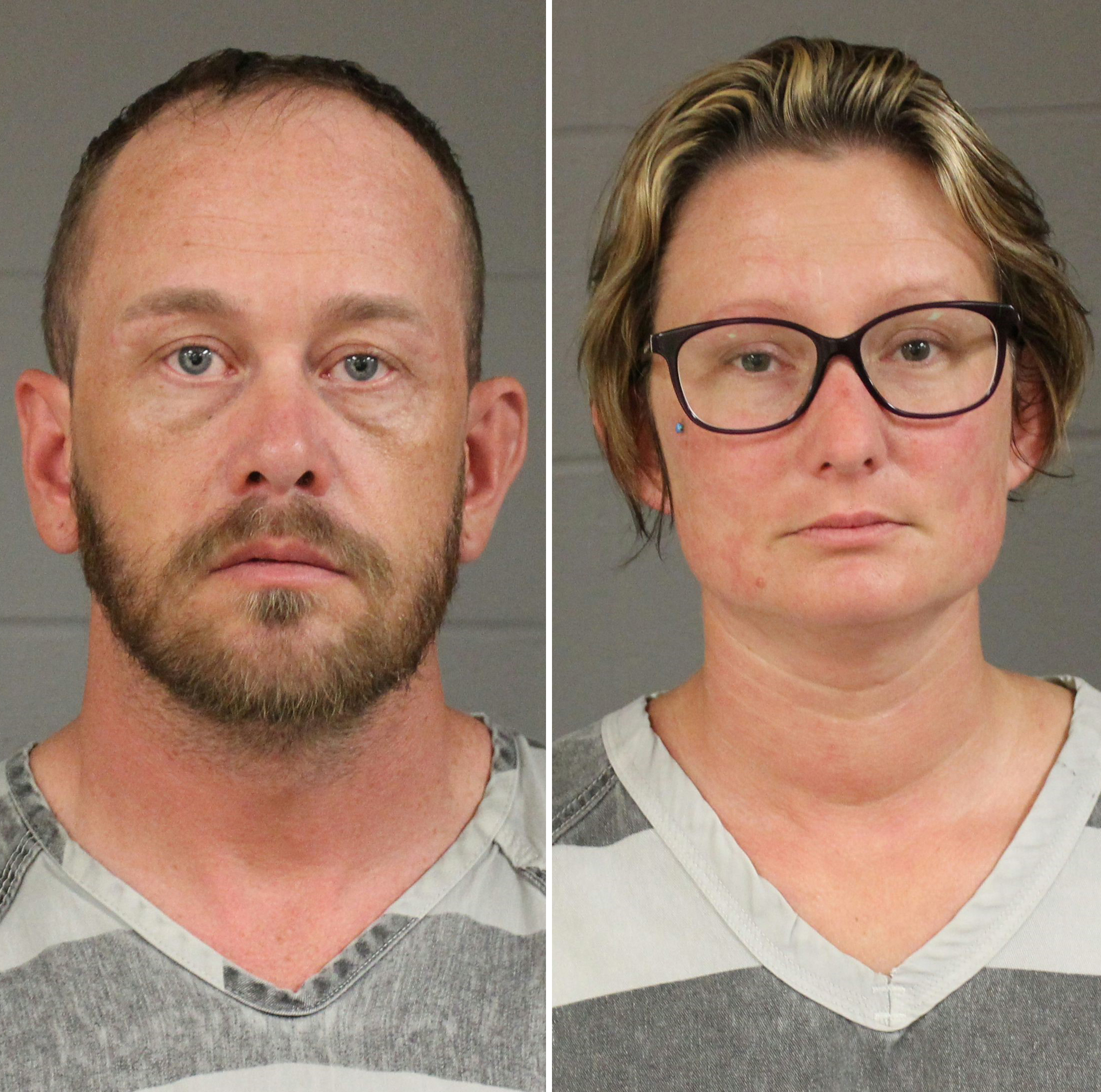 This photos released by the Minnehaha County Sheriff's Department shows Lance Long and Crystallynn Long.