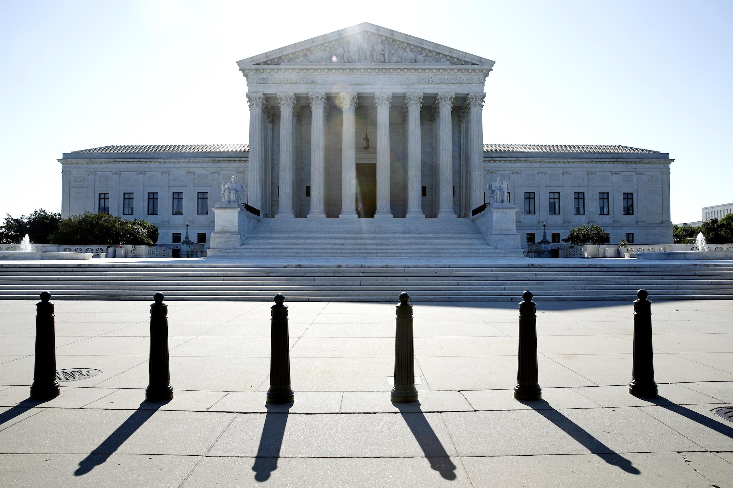 The U.S. Supreme Court in Washington, D.C., on June 29, 2020.