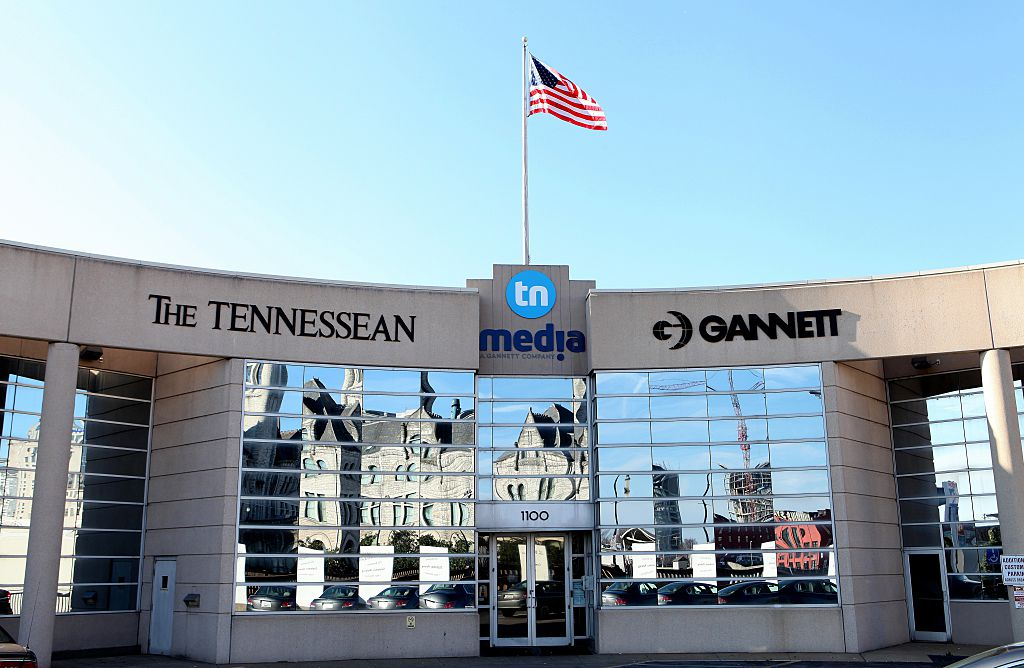 The Tennessean building on Jan. 1, 2016 in Nashville, Tennessee.