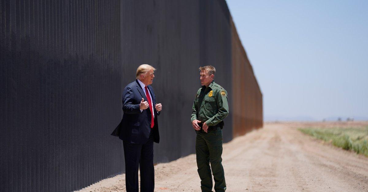 As Coronavirus Cases Surge Nationally, President Trump Shifts Attention to U.S.-Mexico Border Wall thumbnail