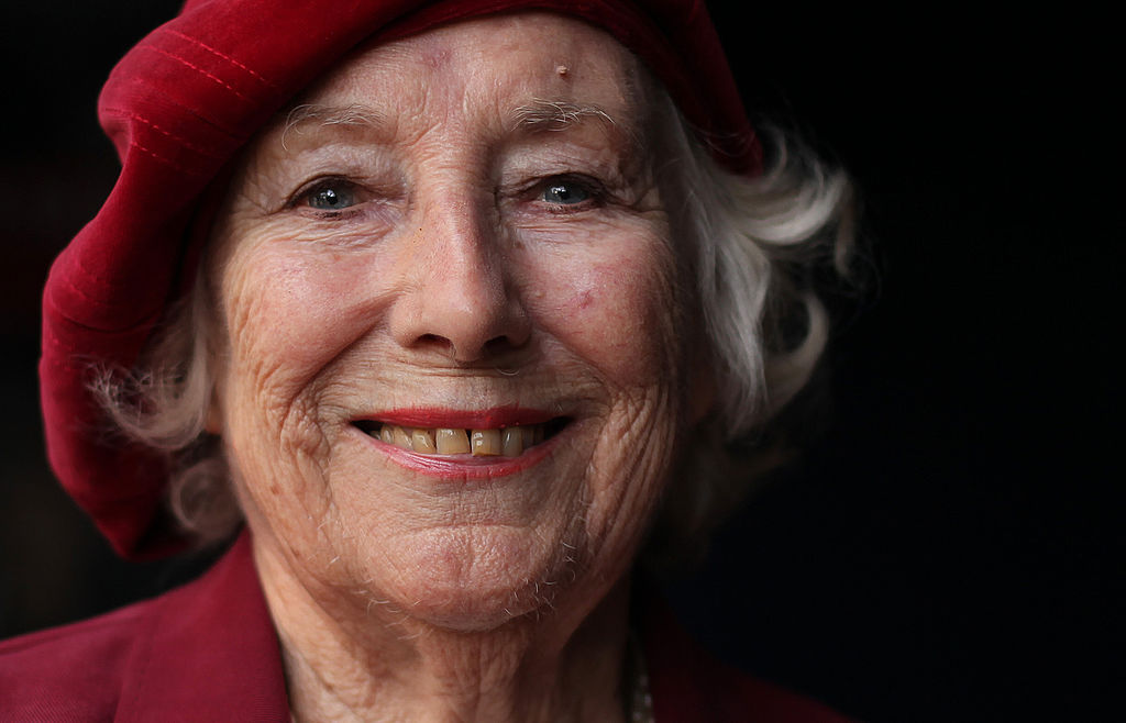 Dame Vera Lynn poses for photographs in central London, on October 22, 2009.