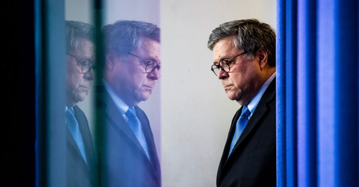 Americans Need to Know the Truth About William Barr's Friday Night Massacre. We Can't Afford to Wait thumbnail