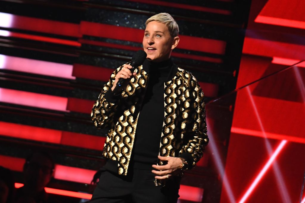 Ellen DeGeneres at the 62nd Annual Grammy Awards on Jan. 26, 2020, in Los Angeles.