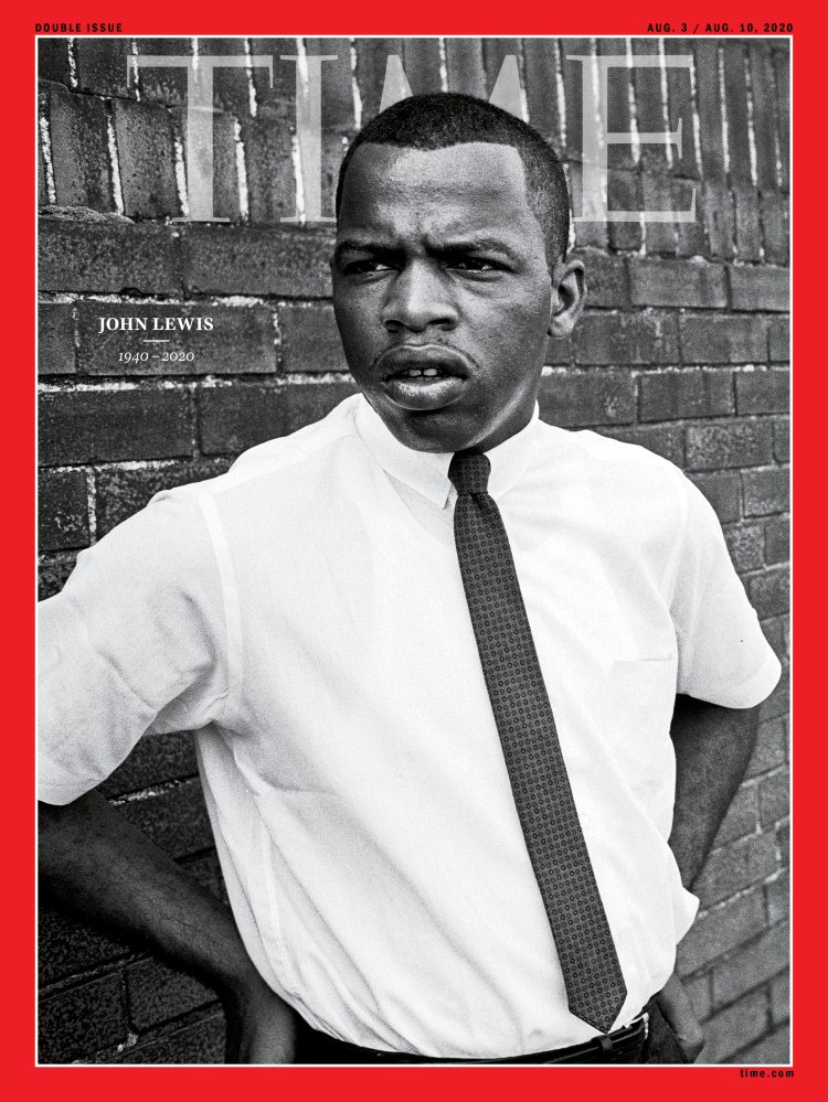 John Lewis Time Magazine Cover