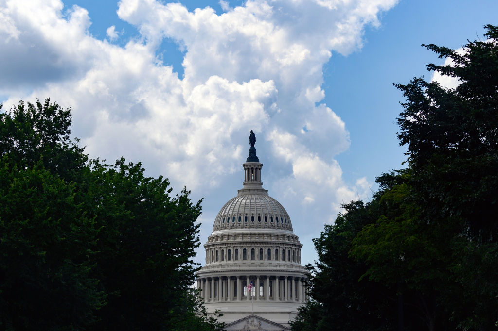 The U.S. Capitol building stands in Washington, D.C., on July 1, 2020.