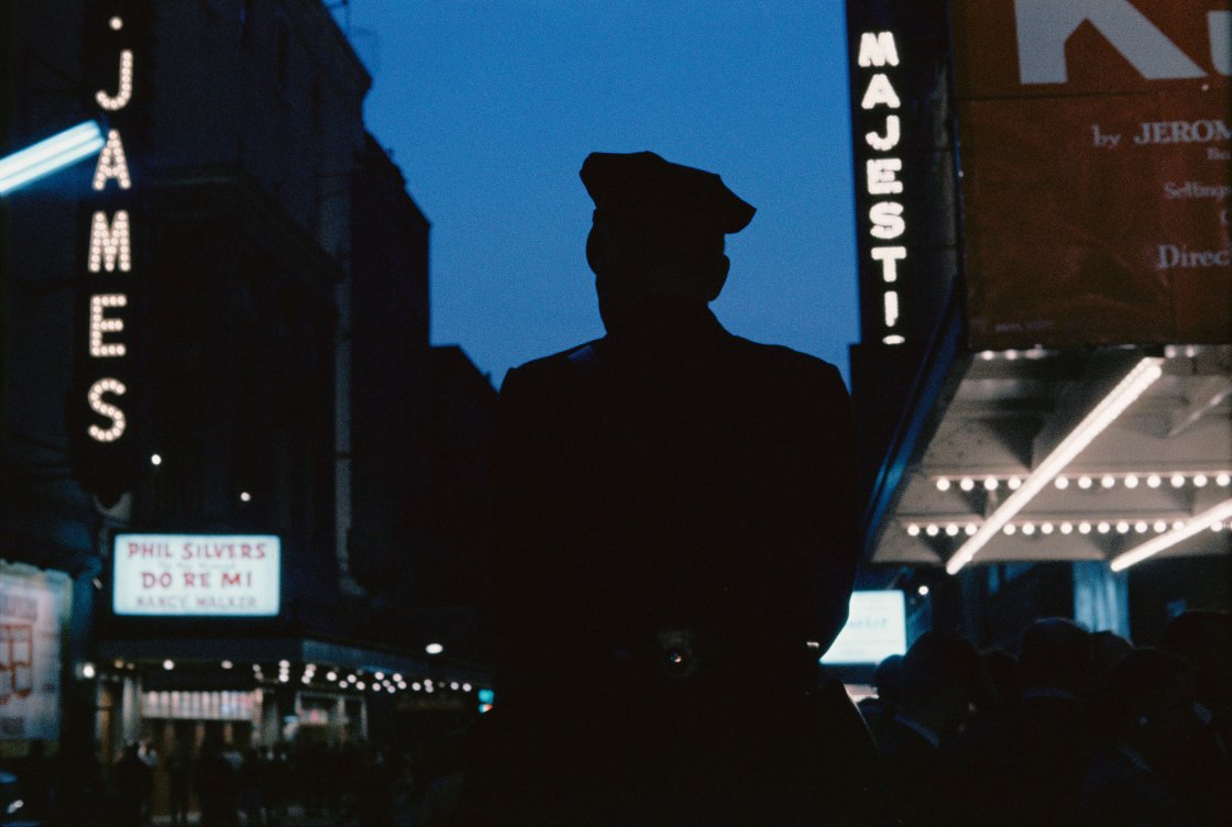 'Untitled, New York, New York, 1957,' from the book Gordon Parks: The Atmosphere of Crime.