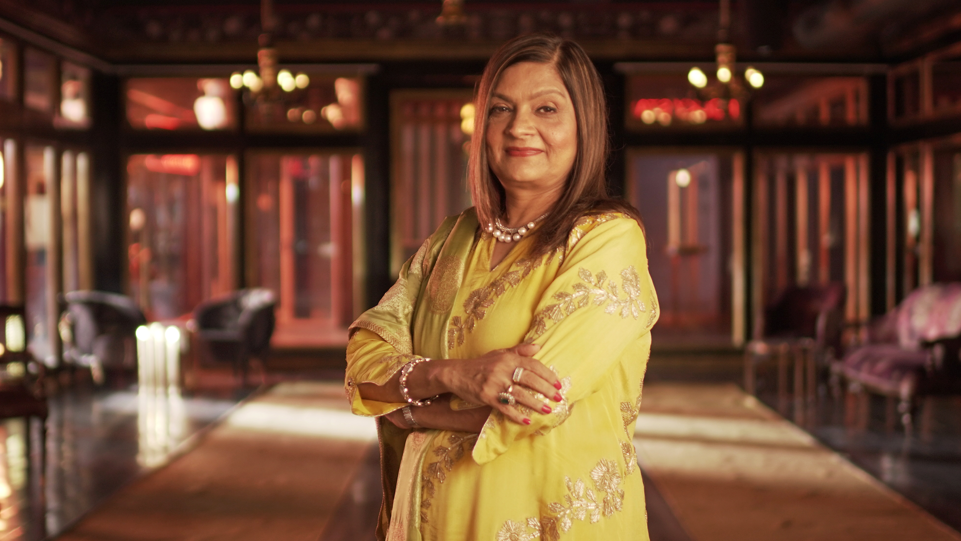 Sima Taparia, one of Mumbai's most highly sought-after matchmakers, in Netflix's 'Indian Matchaking'