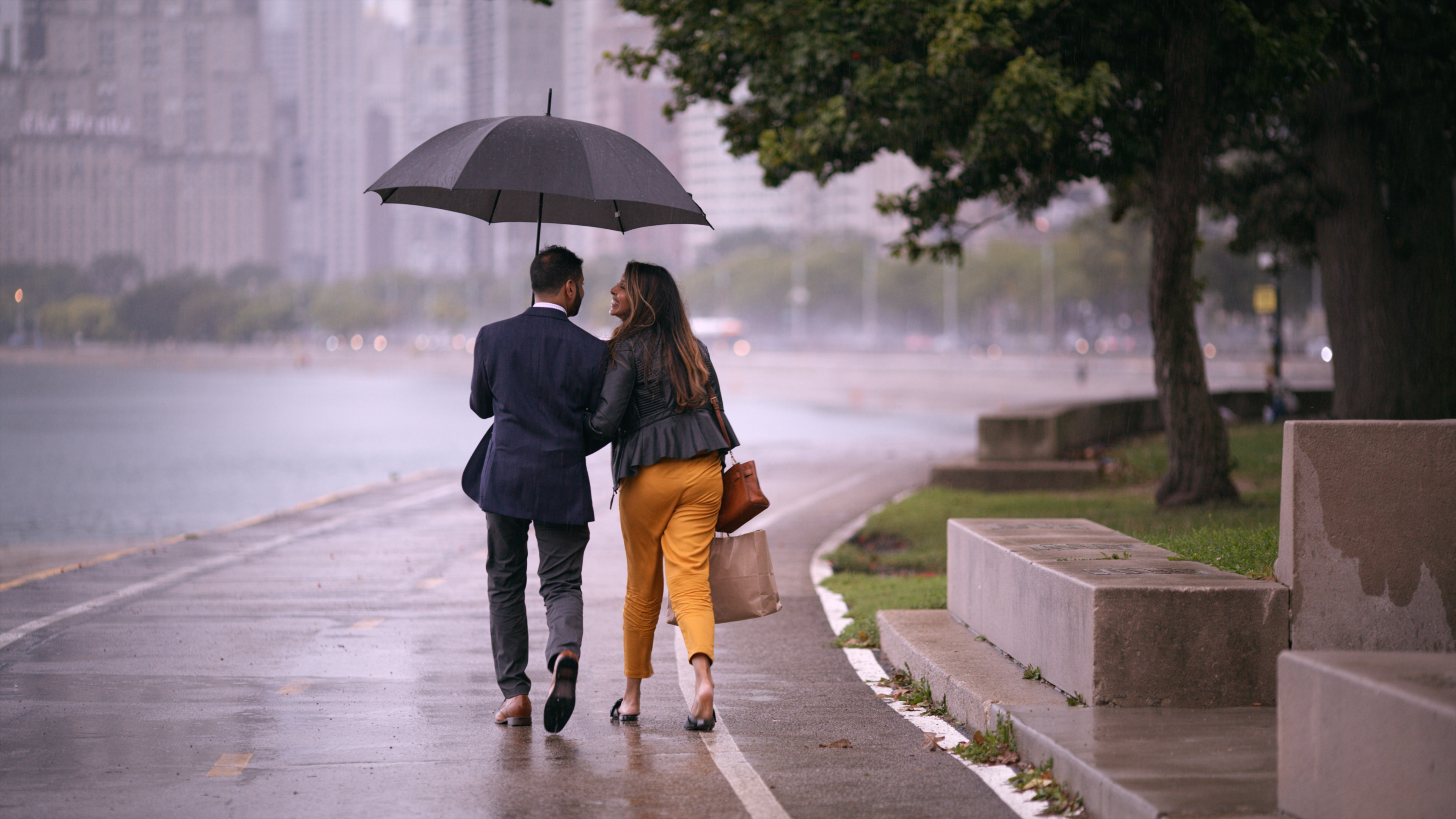 A couple in Netflix's 'Indian Matchmaking'