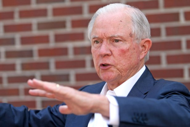 Alabama Senate Candidate Jeff Sessions Votes In Runoff Primary Election