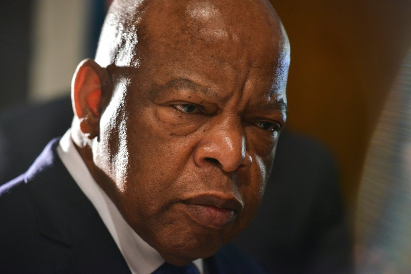 Rep. John Lewis in Alexandria, Va., in November 2015. His advocacy for equal rights ultimately led him to the political arena, where he spent the final chapter of his life.