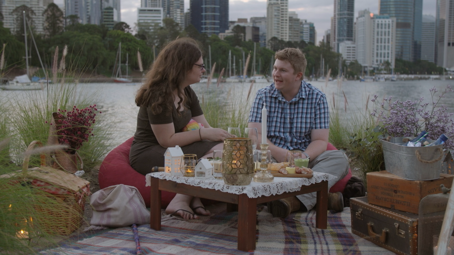 Ruth and Thomas in Netflix's 'Love on the Spectrum'