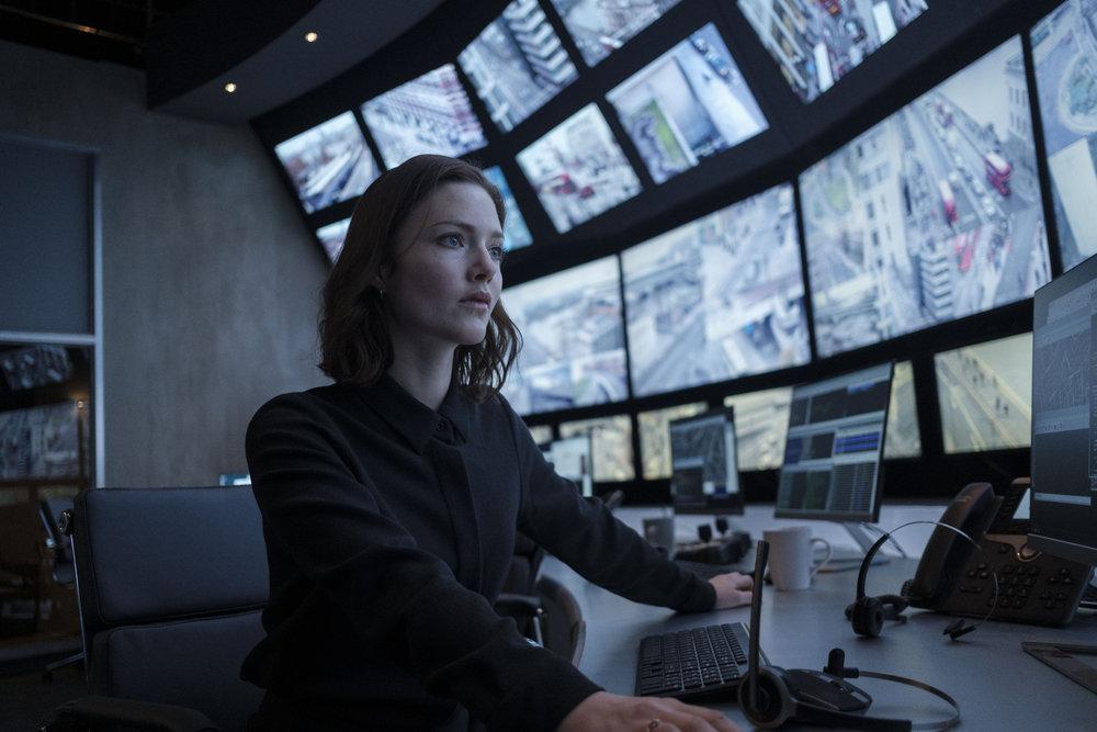 Holliday Grainger as DI Rachel Carey in 'The Capture'