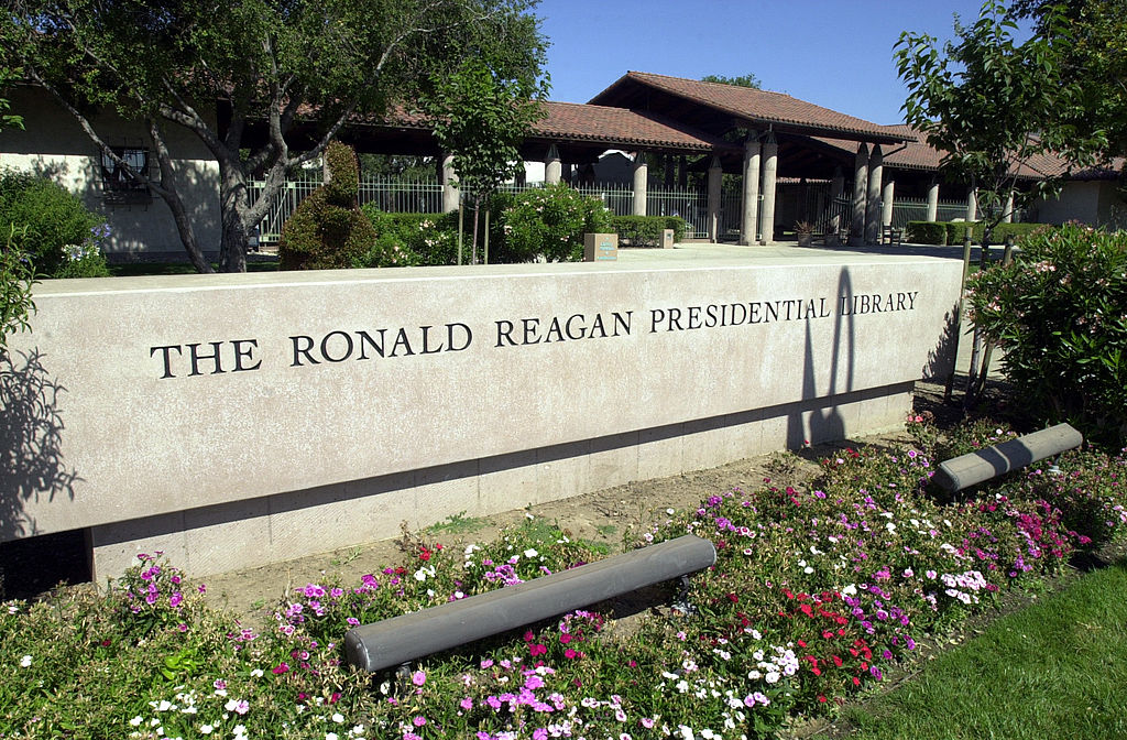 The Ronald Reagan Presidential Library is seen June 5, 2004 in Simi Valley, Calif.