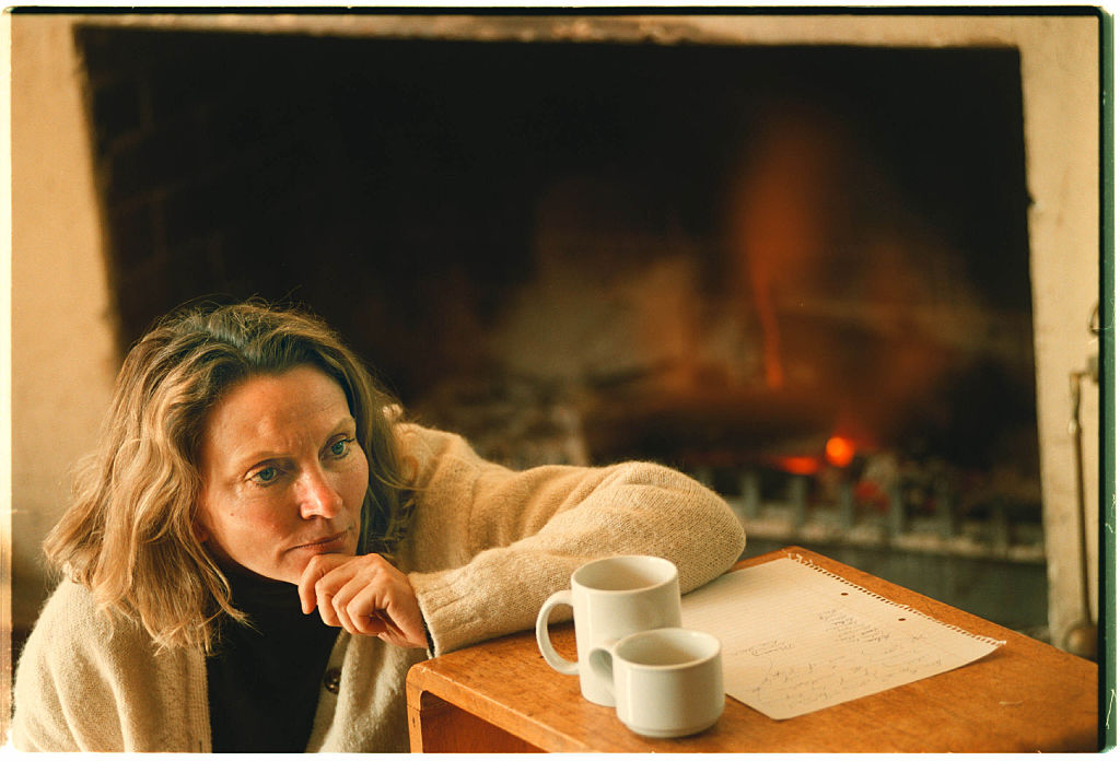 Robyn Davidson in The Blue Mountains, teaching workshops on memoir writing.