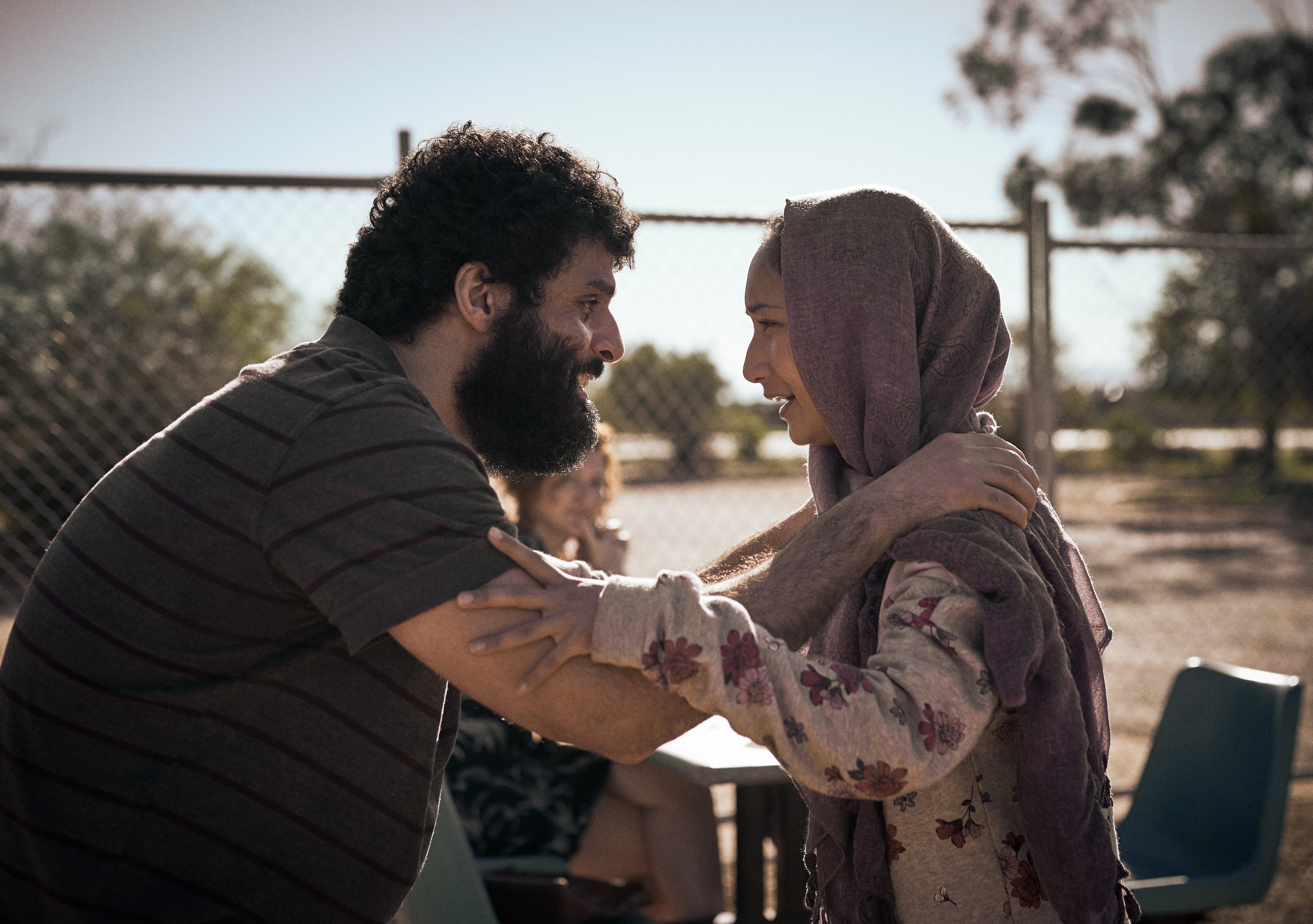 Fayssal Bazzi and Soraya Heidari in 'Stateless'