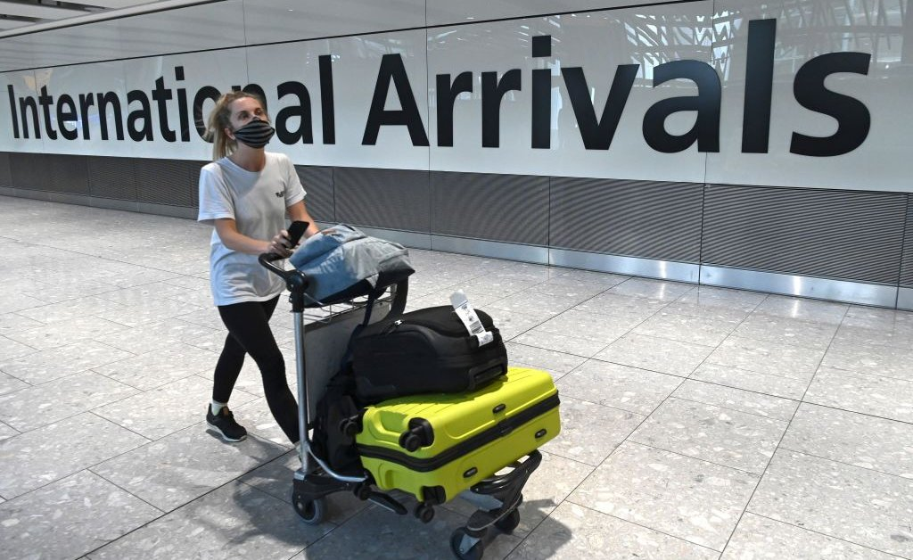 U.K. Government Relaxes Quarantine Rules For Travelers From 58 Countries
