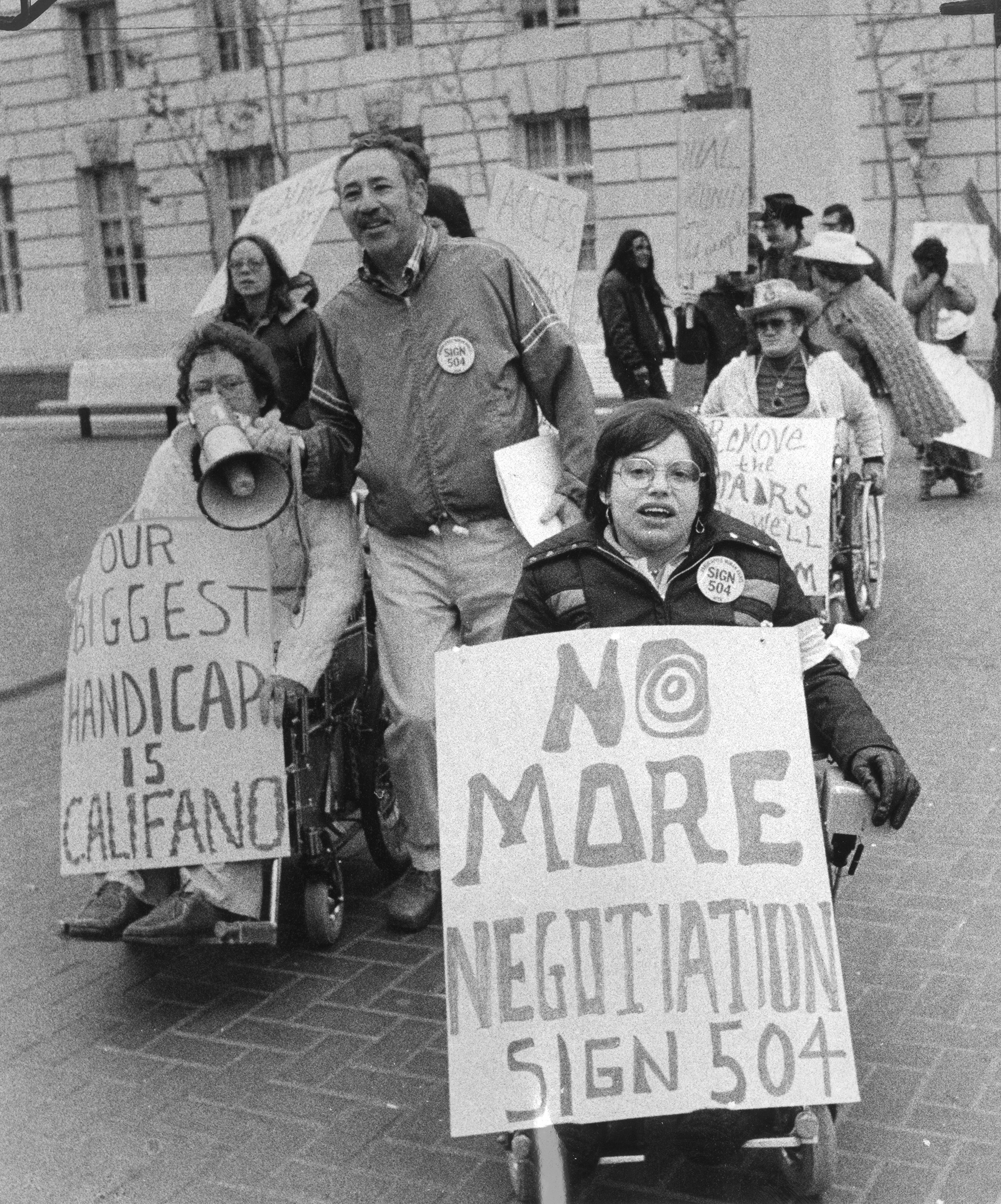 Heumann protests in 1977