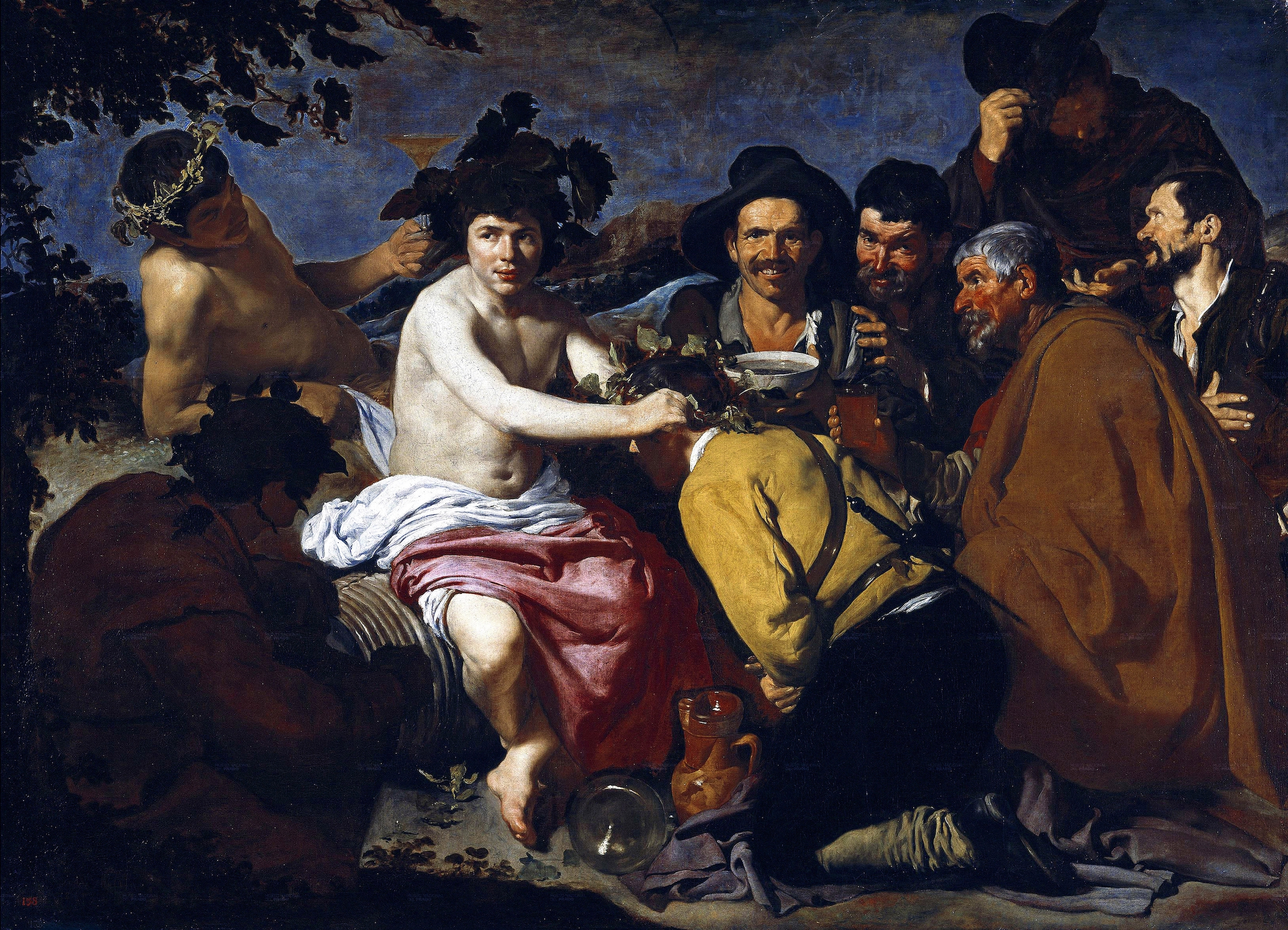 Diego Velazquez's 'The Triumph of Bacchus, or the Drunkards' (1628-29)
