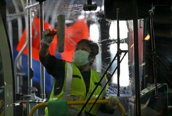 Sanitizing the MBTA