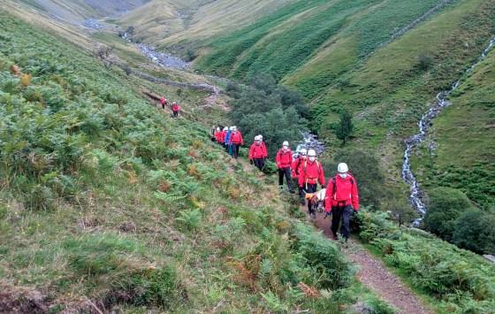 Britain Dog Mountain Rescue