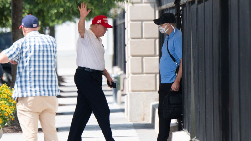 Masks 'Strongly Encouraged' at Next Rally