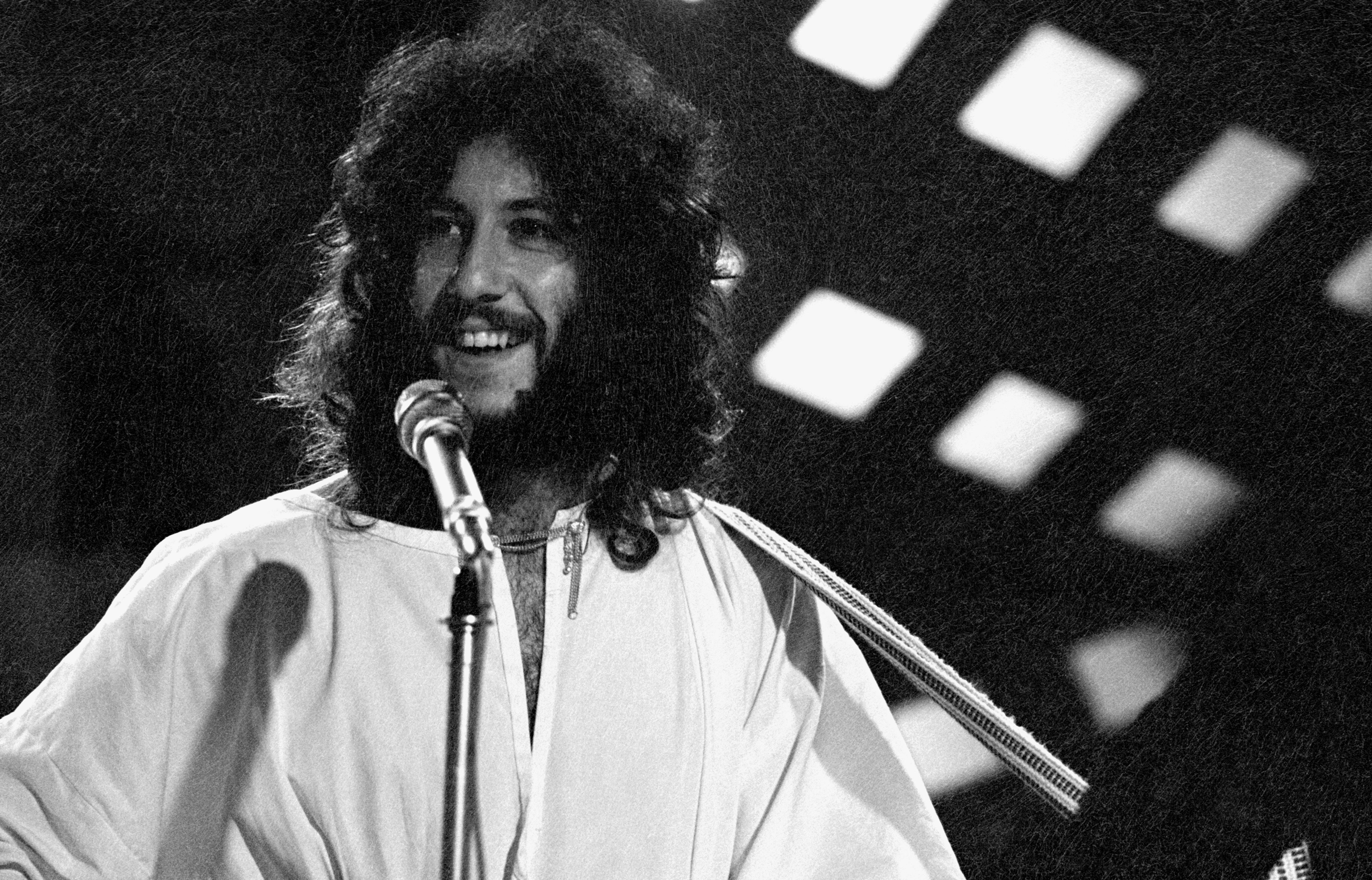 BBC TV CENTRE  Photo of FLEETWOOD MAC and Peter GREEN, with Fleetwood Mac, performing on TV Show on January 1.