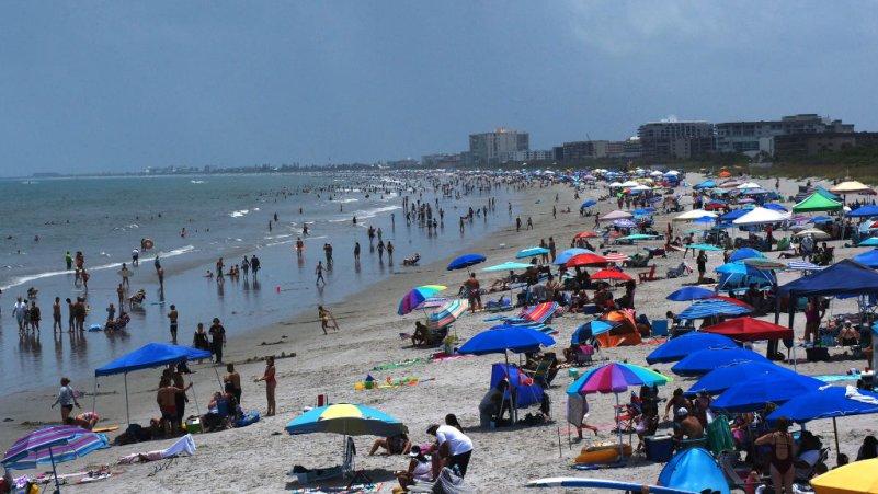 Florida Reports Record New COVID-19 Cases
