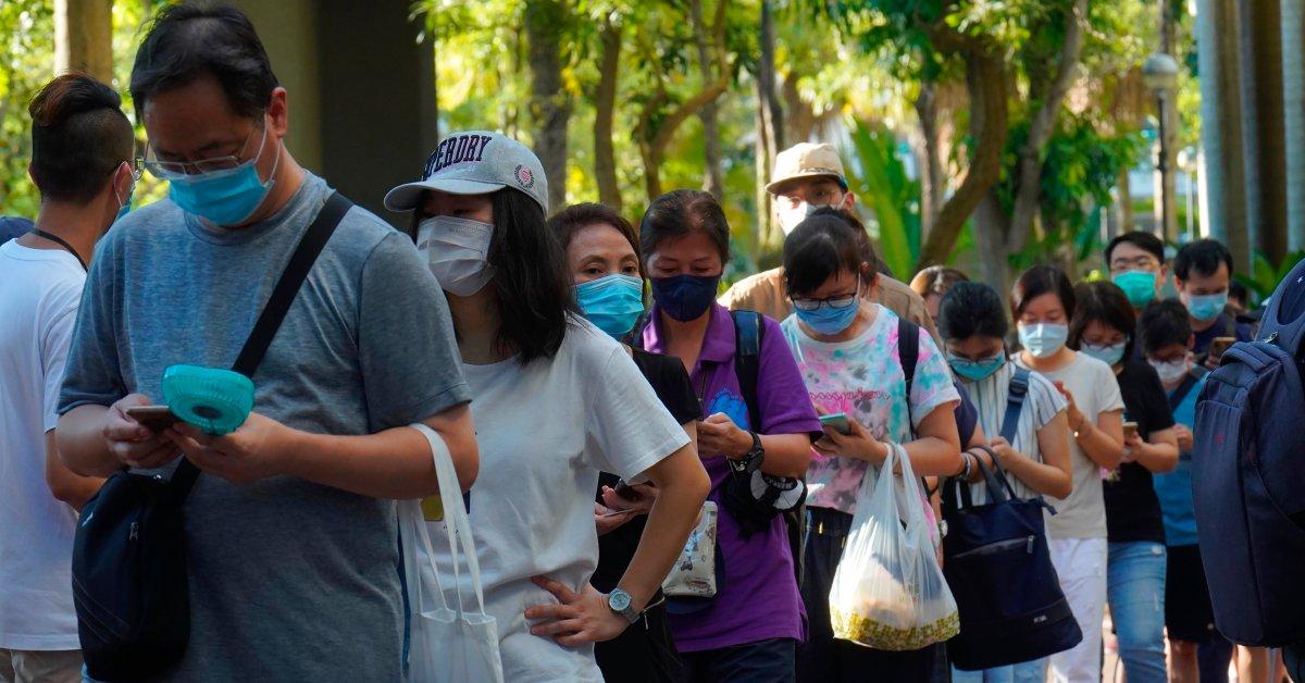 Hundreds of Thousands in Hong Kong Cast Their...